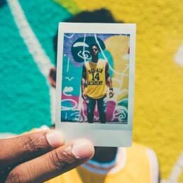 Fotografii polaroid imprimate la evenimente