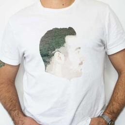 Fotografii imprimate pe tricouri sau textile la evenimente